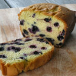 It's Blueberry Season in Maine…time for Blueberry Sour Cream Pound Cake!!!!!!