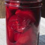 You can't beat Pickled Beets…another day of canning!