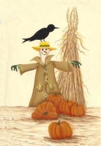 Halloween, pumpkin, scarecrow, free craft pattern, craft pattern, how to paint a pumpkin