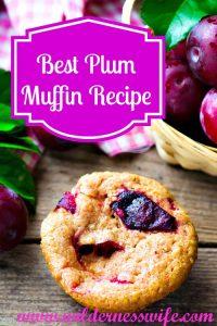 Best Plum Muffin Recipe, Plum Muffin, Plum Recipes