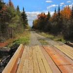Logging Tote Road, Maine Wilderness Road, Baxter State Park