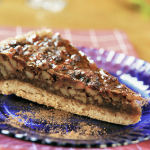 Maple Walnut Tart …. or Maple Pecan Tart – your choice!