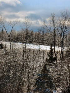 North Maine Woods, Baxter State Park in Winter,
