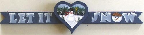 Free Snowman Craft Pattern Image