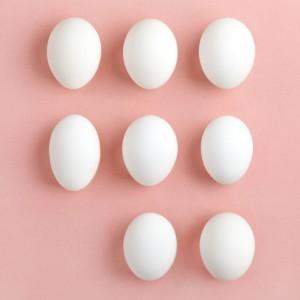 Easter Egg decorating, white eggs for Easter eggs
