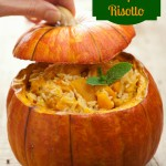 Creamy Slow Cooker Pumpkin Risotto
