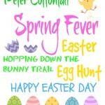 Make an easy Easter Egg Tree!