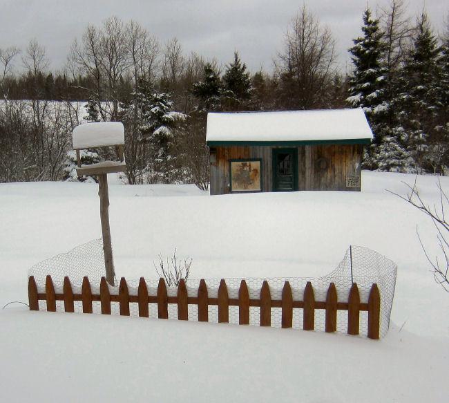 Garden fence,  herb garden