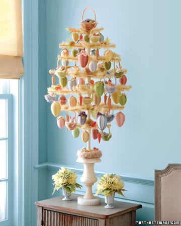 Easter egg trees for your inner martha the wilderness wife How to make an easter egg tree