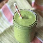 Shamrock Shake Smoothy, St. Patrick's Day shake, green smoothy