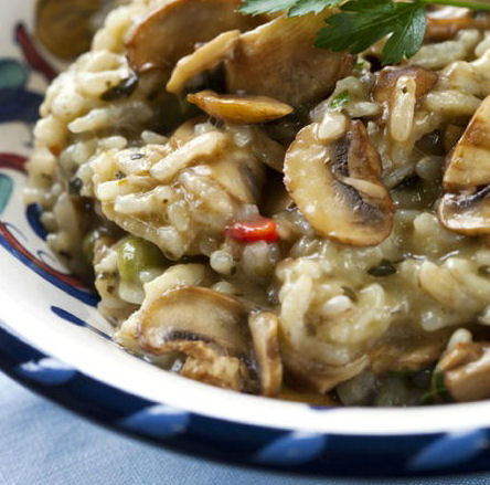 Slow Cooker Risotto Recipe The Wilderness Wife Cooking Crafting Gardening In The North Maine Woods