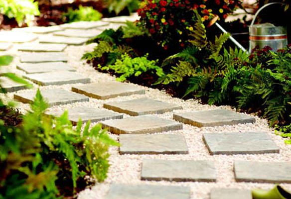 Home Depot Garden Club, Home Depot Paver Path