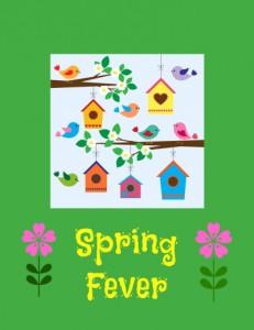Spring, bird, biords, birdhouse
