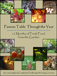 Free Gardening Ebook, Free Recipe Ebook, free cookbook
