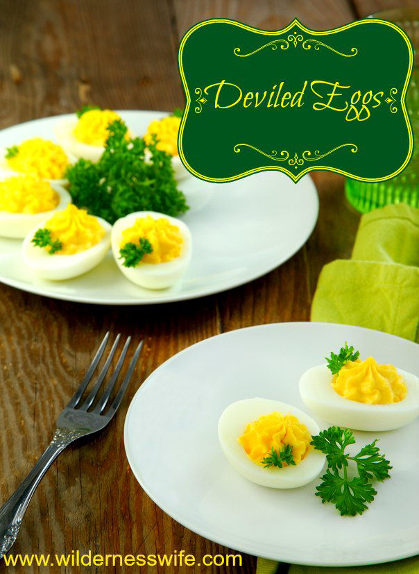 Dviled eggs recipe is so good