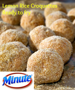 minute rice ready to serve, rice croquette, lemon rice recipe