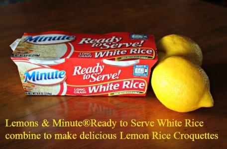 lemon recipe, rice recipe, minute rice recipe, lemon, rice, easy rice recipe