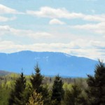 Friday Fences – Mount Katahdin and Salmon Stream Lake