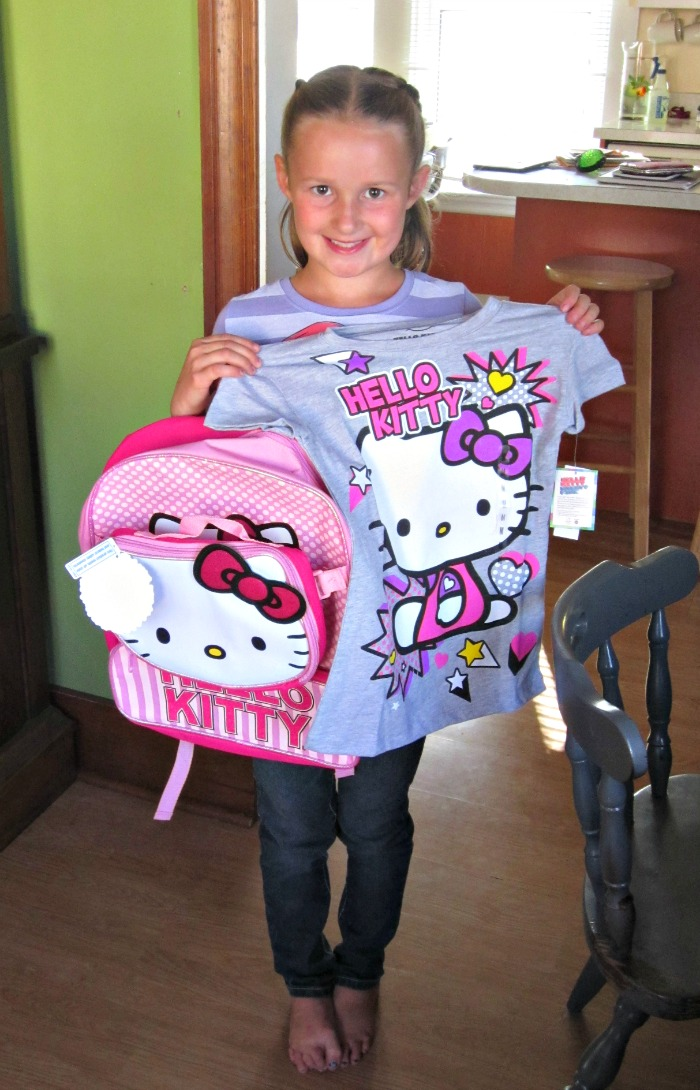 Hello Kitty Back pack, Hello Kitty Tshirt
