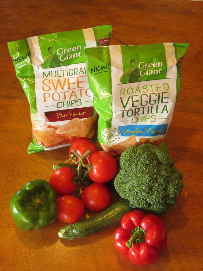 Green Giant Veggie Snack Chips, healthy snack