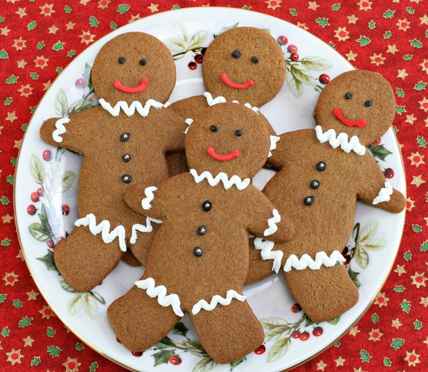 Soft Moist Gingerbread Cookies - The Wilderness Wife