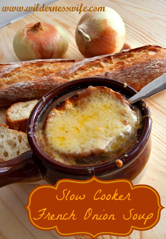 ... crock pot, slow cooker French Onion Soup, Crock pot French Onion Soup