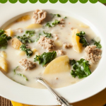 Sausage and Kale Soup, Olive Garden, Italian Soup, Slow Cooker Recipe, Olive Garden Sausage Soup, Olive Graden, Slow Cooker Recipe