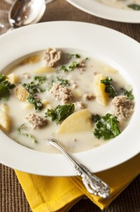 Sausage and Kale Soup, Olive Garden, Italian Soup, Slow Cooker Recipe