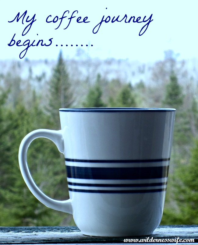 Coffee, Mr. Coffee, Morning coffee, Mount Katahdin, Maine, wilderness