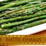 Roasted Asparagus with an Easy Hollandaise Sauce Recipe