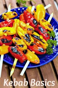 kebab, vegetable kebab, how to make kebabs