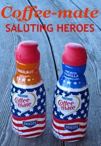 Coffee-mate, coffee, creamer, veterans, heroes