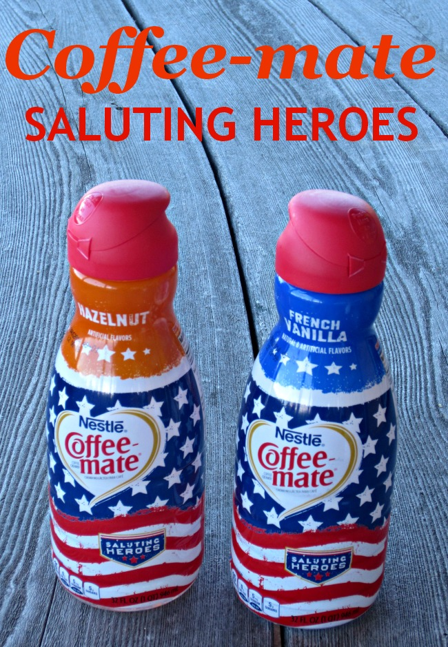 Coffee-mate, coffee, creamer, veterans, heroes