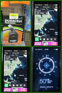 #PreThese apps on our smartphone tell us what's up with the weather, where lightning strikes are, and keep us in touch with the rest of the world. #PrepwithPowerpwithPower, Duracell, emergencies