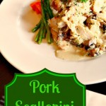 Pork Scallopini – great thing to do with Pork Chops