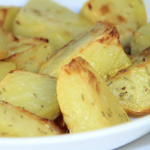 Easy Microwave Herbed Potatoes