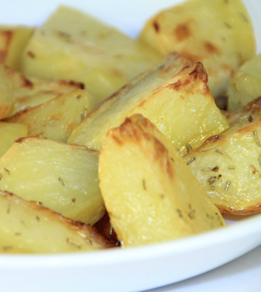 Quickly cooked in the microwave, these potatoes are a lifesaver on a busy night!