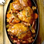 slow cooker coq au vin recipe