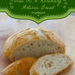 Olive Oil and Rosemary Artisan Bread Recipe