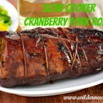 Slow Cooker Cranberry Pork Roast Recipe