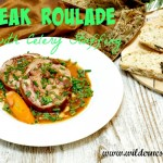 Steak Roulades with Celery Stuffing Recipe