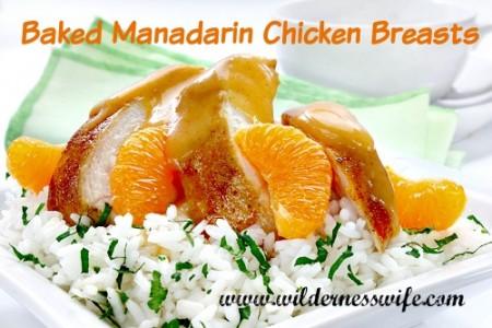 baked mandarin chicken breasts, baked chicken, chicken casserole, orange chicken, baked orange chicken breasts, baked chicken breasts