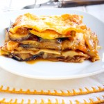Vegetable lasagna bake