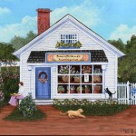 Grammy Mouse Thompson Americana House Portraits