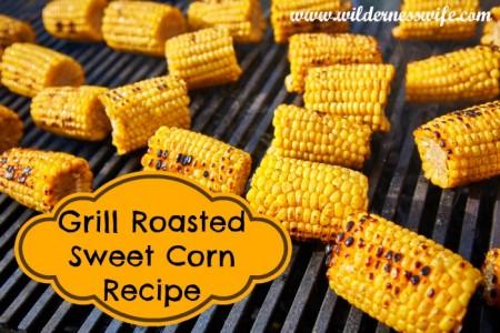 roasted sweet corn, corn recipe, how to grill sweet corn on the cob, grilled sweet corn
