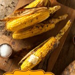 Gas Grill Roasted Sweet Corn on the Cob