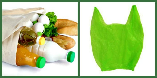 save, recycle, repurpose, plastic grocery bag