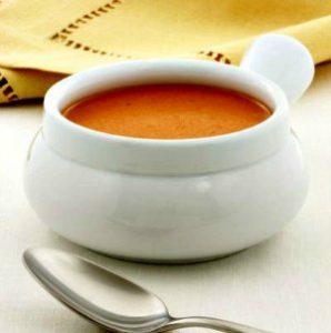 Bowl of Creamy Tomato Bisque Soup Recipe