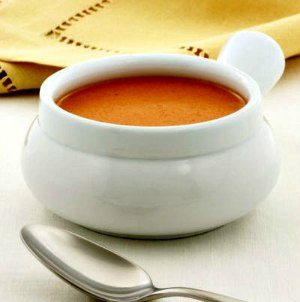 Bowl of Creamy Tomato Bisque Soup Recipe