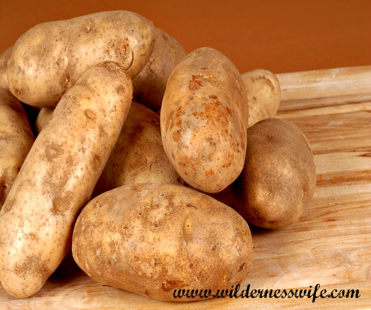 Russte potatoes are your best choice for mashed potatoes.